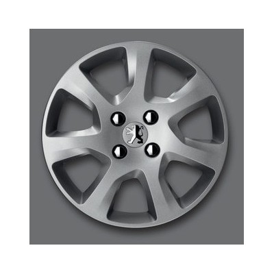 "Peugeot hubcaps on the wheels 16"" - 5008"