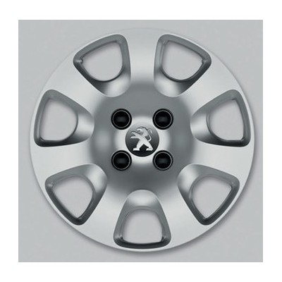 "Peugeot hubcaps on the wheels ATACAMA 15"" - PARTNER TEPEE"