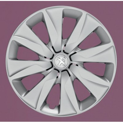 """Peugeot hubcaps on the wheels BRECOLA 15"""" - 108"""