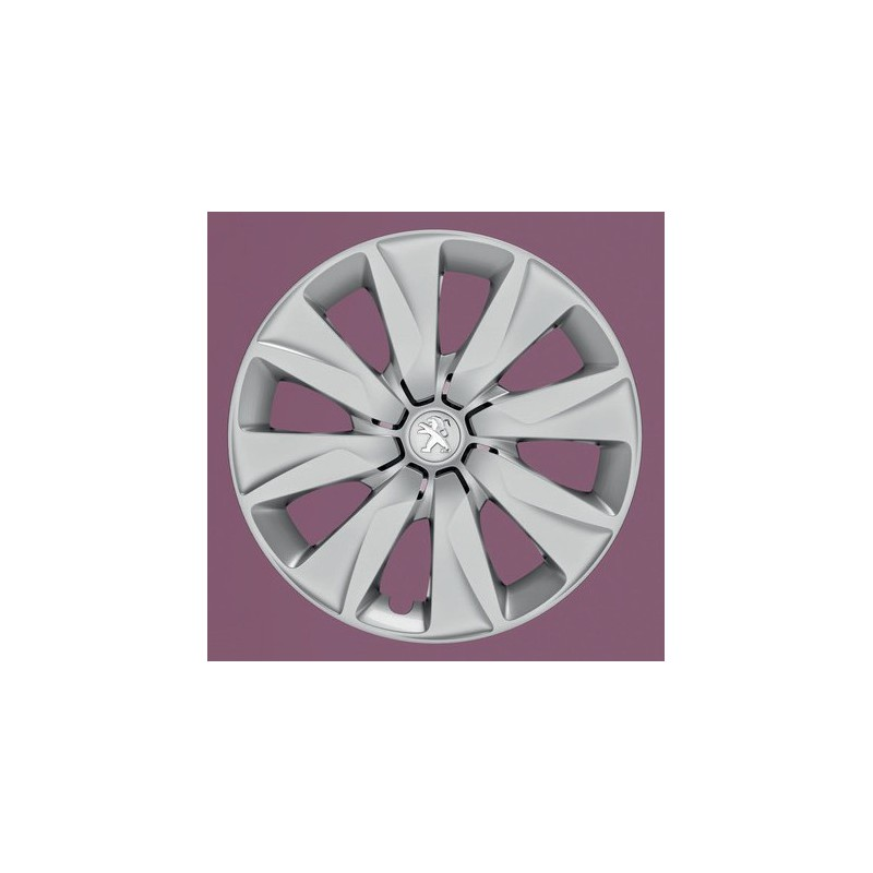 "Peugeot hubcaps on the wheels BRECOLA 15"" - 108"