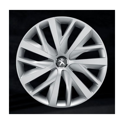 "Poklice na kola CORAIL 16"", styl Peugeot 308 (T9), 508 (R8)"