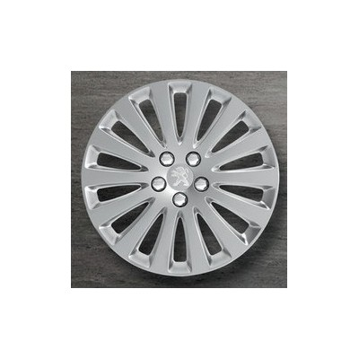 "Peugeot hubcaps on the wheels STYLE A 16"" - 508"