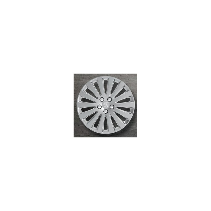 """Peugeot hubcaps on the wheels STYLE A 16"""" - 508"""