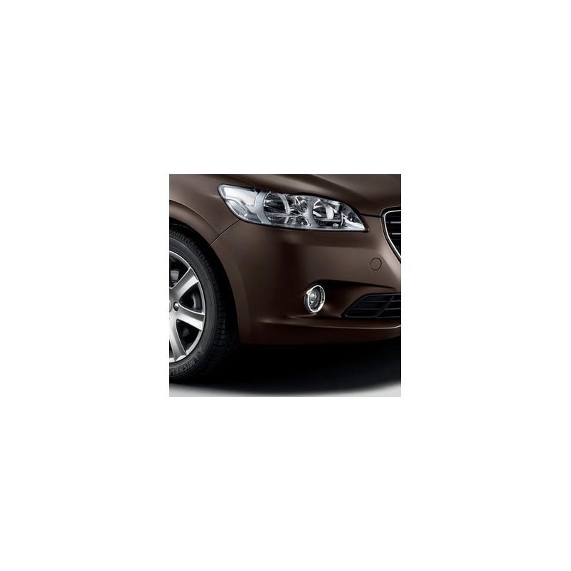 Chromované rámečky mlhových světlometů Peugeot 301