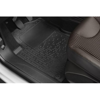Set of rubber floor mats Peugeot 208, 2008