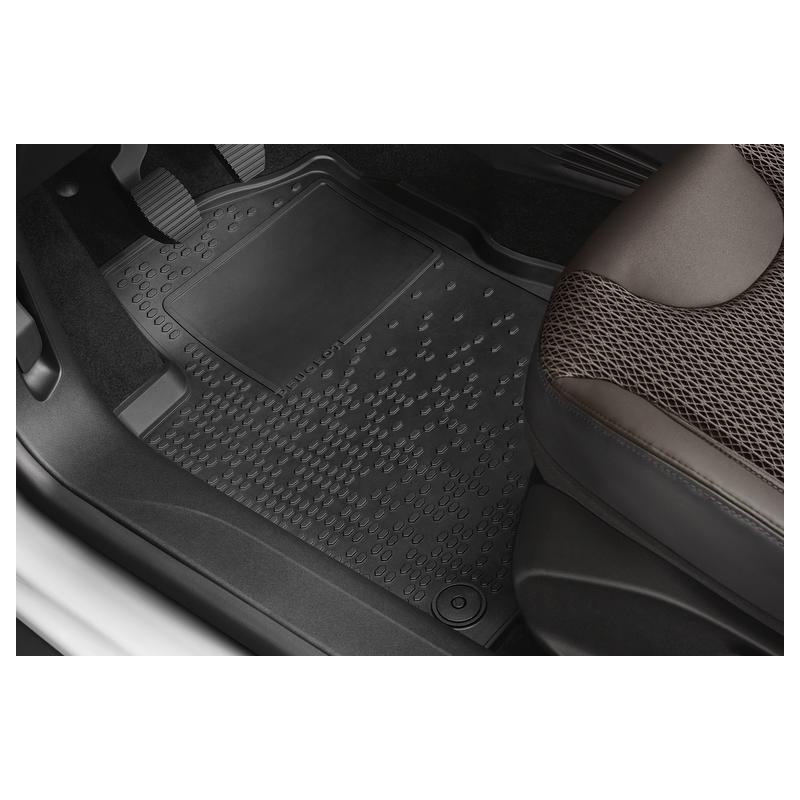 Set of rubber floor mats Peugeot 208, 2008