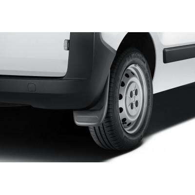 Satz schmutzfänger hinten Peugeot Bipper