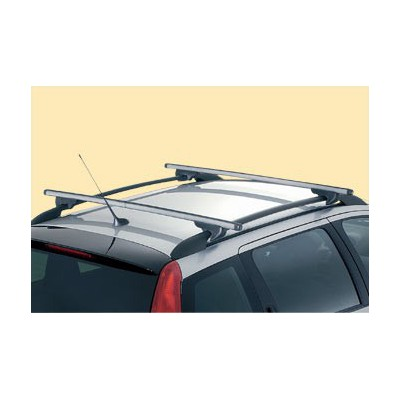 Juego de 2 barras de techo transversales Peugeot 206 SW