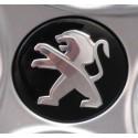 Stredová krytka Peugeot čierna onyx