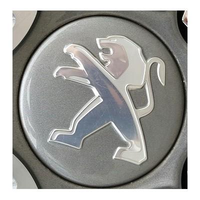 Cenral cap Peugeot anthracite