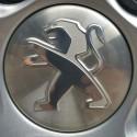 Tapacubo para rueda de aluminio Peugeot gris aluminium