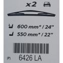 Přední stěrače Peugeot - 406, 406 Break