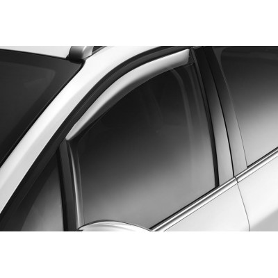 Set of 2 air deflectors Peugeot 208, 2008