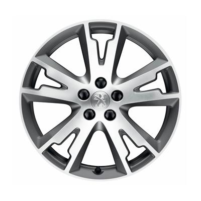 "Set of 4 alloy wheels Peugeot GRAND ANGLE 18"" - 508"