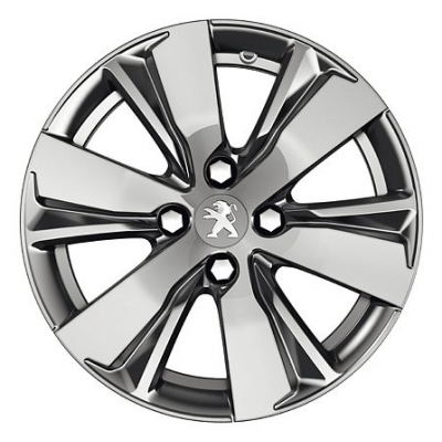 "Alloy wheel Peugeot HYDRE DILIUM 16"" - 2008"