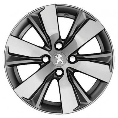 "Alloy wheel Peugeot HYDRE TEN 16"" - 2008"