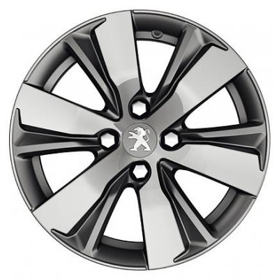 "Cerchio in lega Peugeot HYDRE TEN 16"" - 2008"