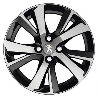 """Alu disk Peugeot ERIDAN NOIR 17"""" - 2008"""