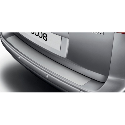 Boot sill protector transparent film Peugeot 5008