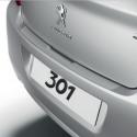 Protector de umbral de maletero film transparente Peugeot 301