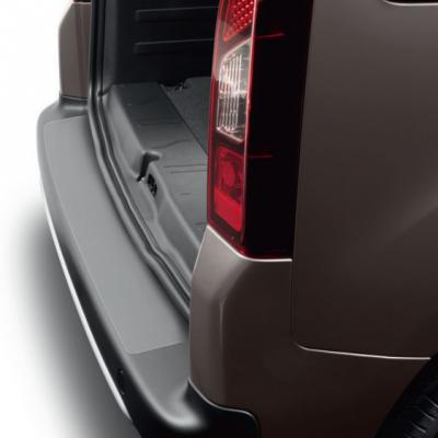 Protector de umbral de maletero film transparente Peugeot Partner (Tepee) B9, Citroën Berlingo (Multispace) B9