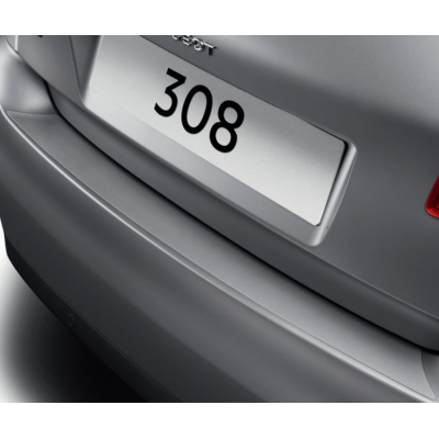 Protector de umbral de maletero film transparente Peugeot 308 (T9)