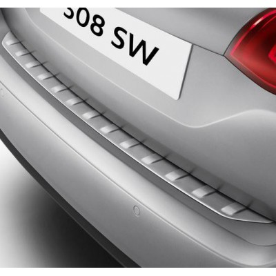Boot sill protector of stainless steel Peugeot 308 SW (T9)