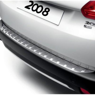 Protezione della soglia del bagagliaio acciaio Peugeot 2008