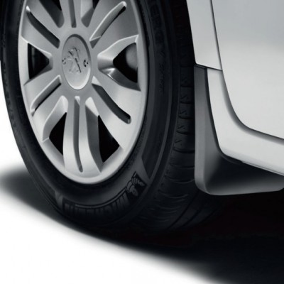 Set of front mudflaps Peugeot Partner (Tepee) B9, Citroën Berlingo (Multispace) B9