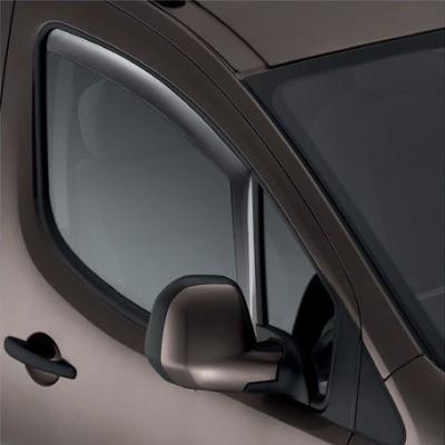 Serie di 2 deflettori dell'aria Peugeot Partner (Tepee) B9, Citroën Berlingo (Multispace) B9