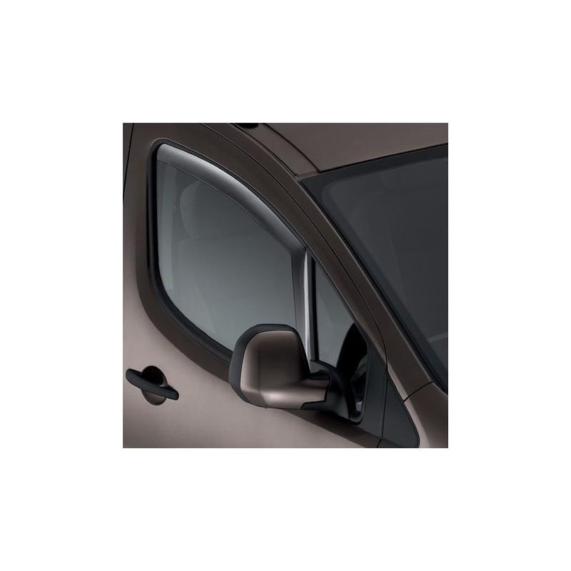 Set of 2 air deflectors Peugeot Partner (Tepee) B9, Citroën Berlingo (Multispace) B9