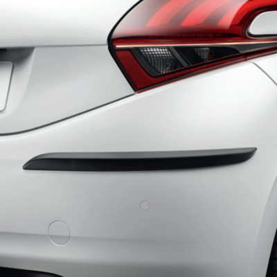 Juego de 2 molduras de protección para paragolpes trasero Peugeot 208