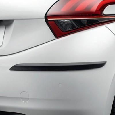 Serie di fasce laterali di protezione per paraurti posteriore Peugeot 208