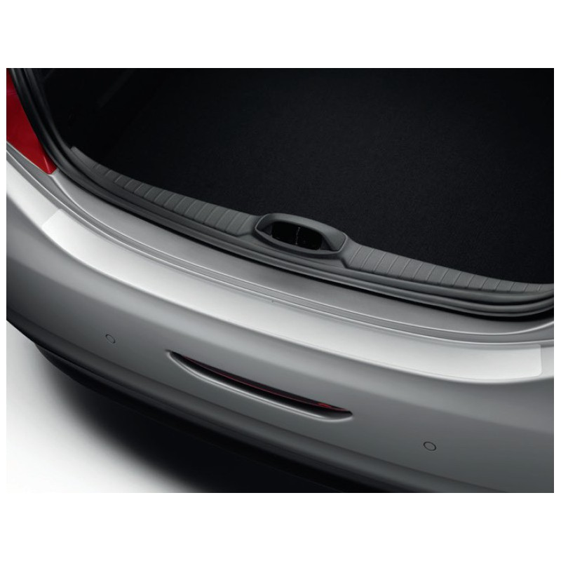 Boot sill protector transparent film Peugeot 208