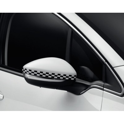 Set of 2 protection shells LIGNE S for exterior rear view mirrors Peugeot 208