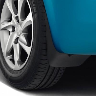 Satz schmutzfänger hinten Peugeot 208