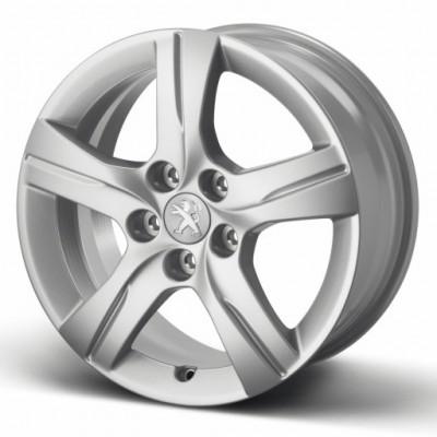 "Satz mit 4 Leichtmetallfelgen STYLE 02 16"" Peugeot - 508"