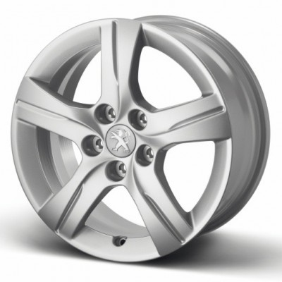 "Set of 4 alloy wheels STYLE 02 16"" Peugeot - 508"