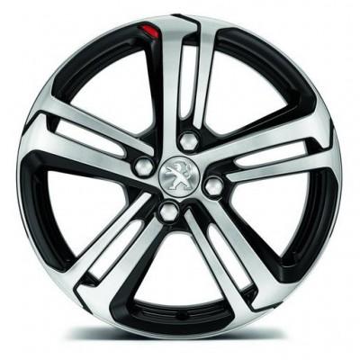 """Serie di 4 cerchi in lega Peugeot CAESIUM 17"""" - 208"""