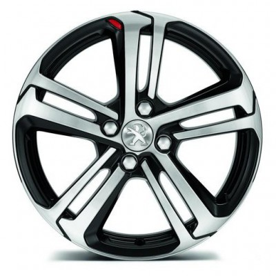 "Set of 4 alloy wheels Peugeot CAESIUM 17"" - 208"