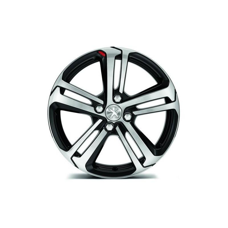 "Alloy wheels Peugeot CAESIUM 17"" - 208"
