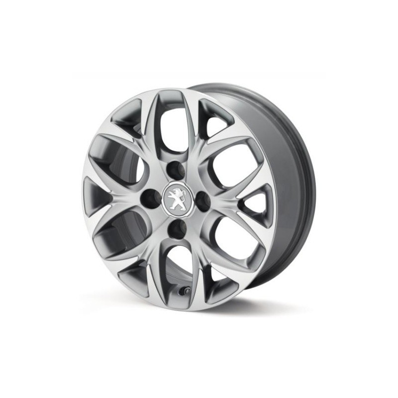 "Satz mit 4 Leichtmetallfelgen Peugeot NEON 15"" - 208"