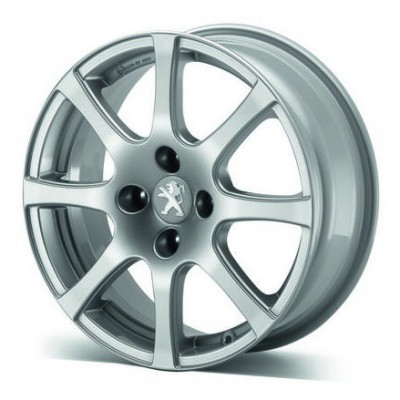 "Alloy wheel Peugeot CARENTAN 16"" - 208"