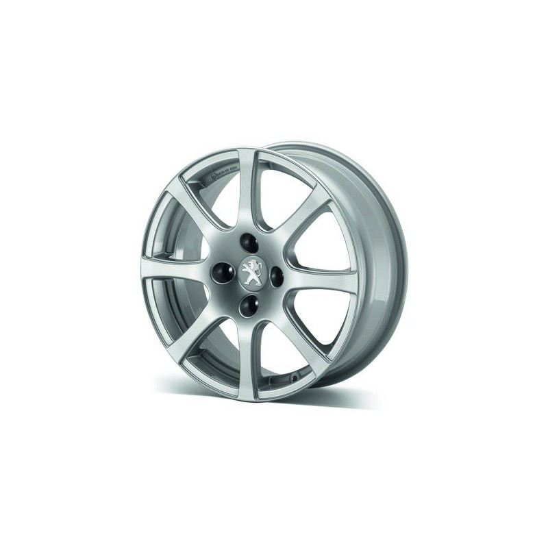 """Cerchio in lega Peugeot CARENTAN 16"""" - 208"""