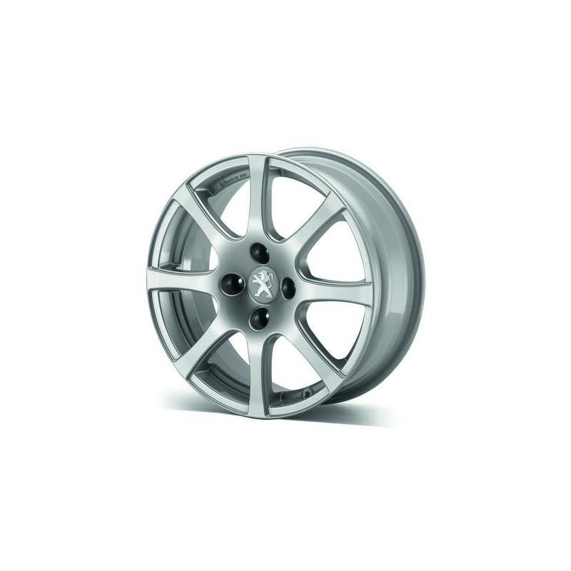 "Leichtmetallfelge Peugeot CARENTAN 16"" - 208"