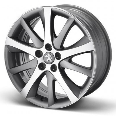 "Set of 4 alloy wheels Peugeot STYLE 08 18"" - 508"