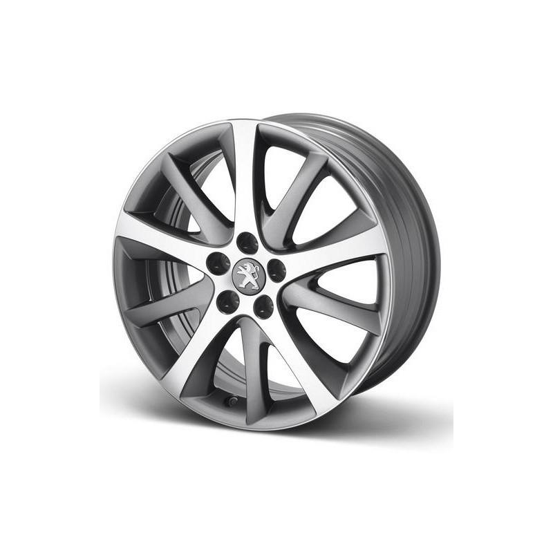 "Set of 4 alloy wheels Peugeot STYLE 08 18"" - 508"