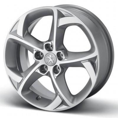 "Satz mit 4 Leichtmetallfelgen Peugeot STYLE 06 17"" - 508"