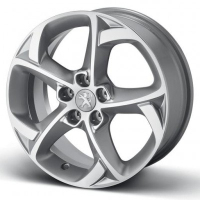 "Set of 4 alloy wheels Peugeot STYLE 06 17"" - 508"