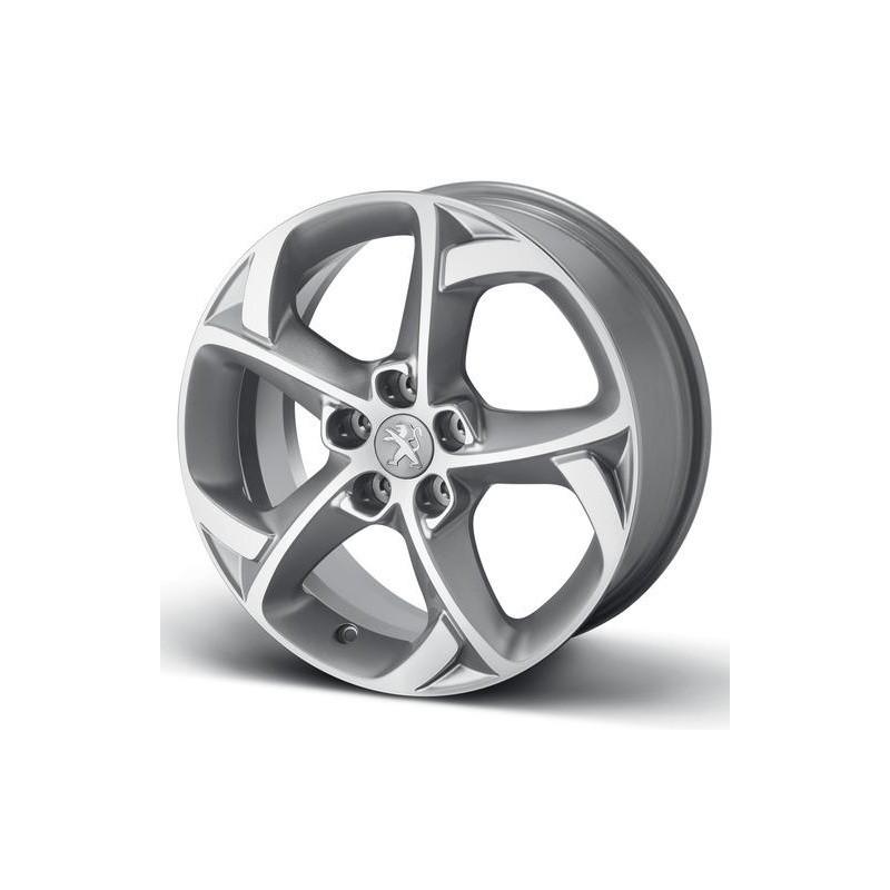 "Set of 4 alloy wheels Peugeot STYLE 06 17"" - 508"